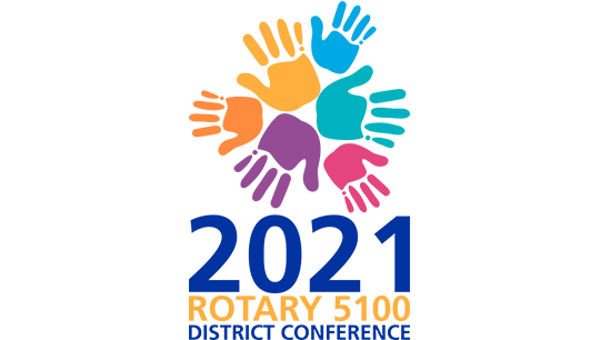 2021 Rotary 5100 District Conference Logo